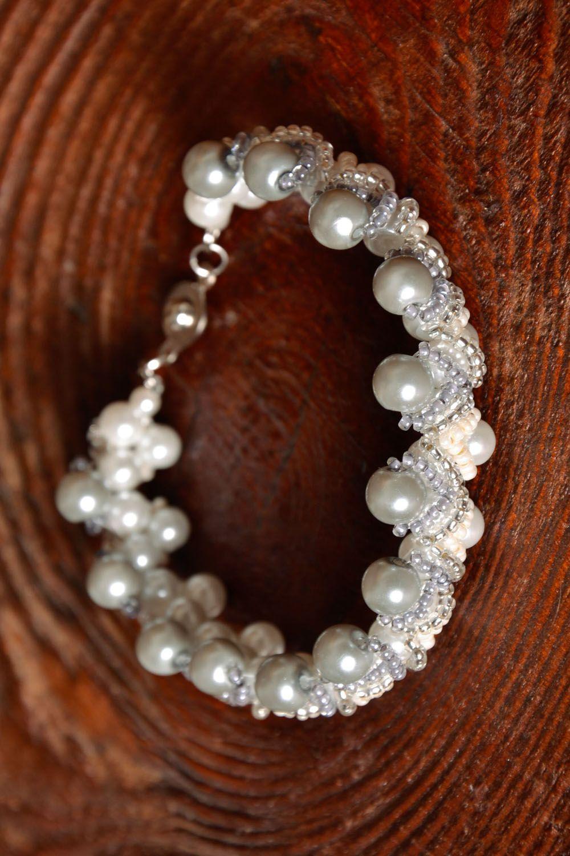 Homemade beaded bracelet photo 1