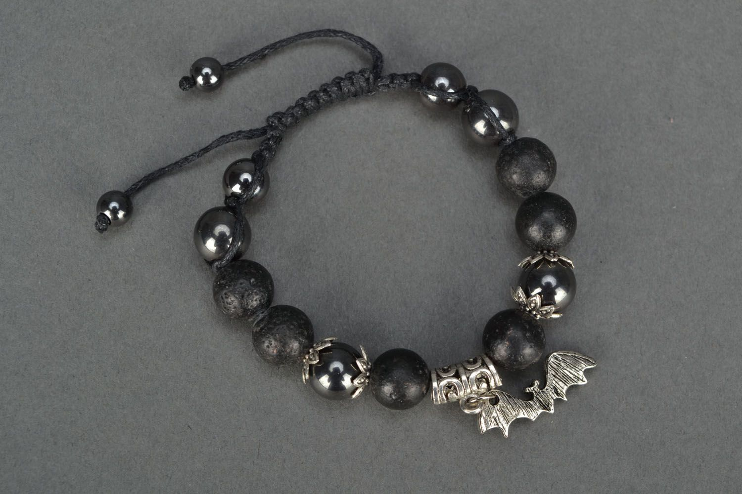 Women's volcanic lava bracelet  photo 2