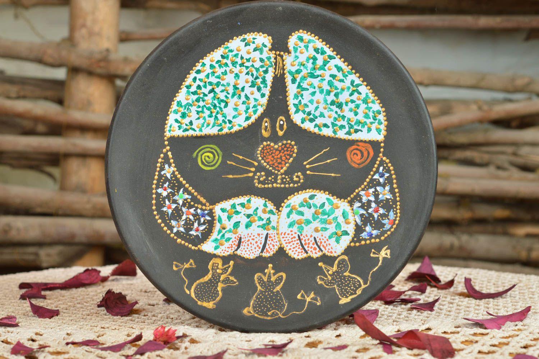 Тарелка керамическая своими руками