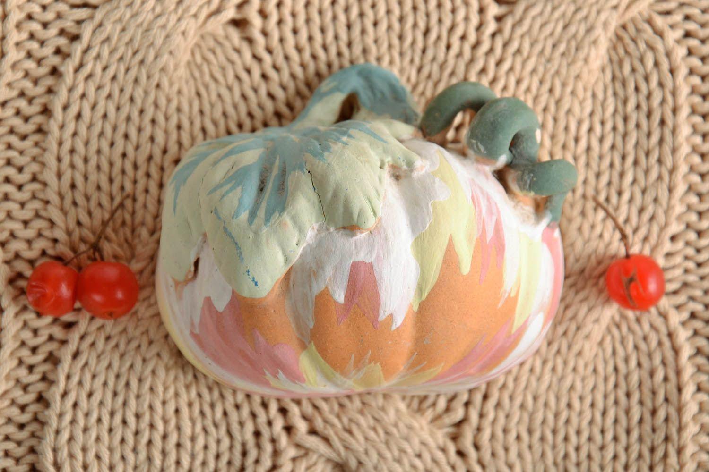 Ceramic fridge magnet Pumpkin photo 1