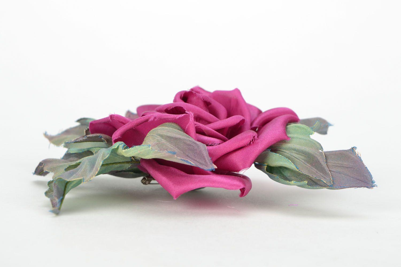 Brosche Blume foto 4