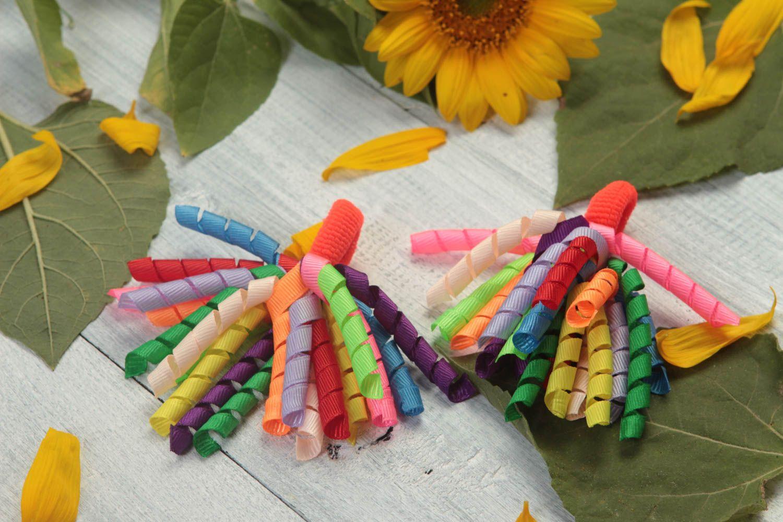 los accesorios infantiles Gomas para el pelo artesanales accesorios para peinados regalo original , MADEheart.