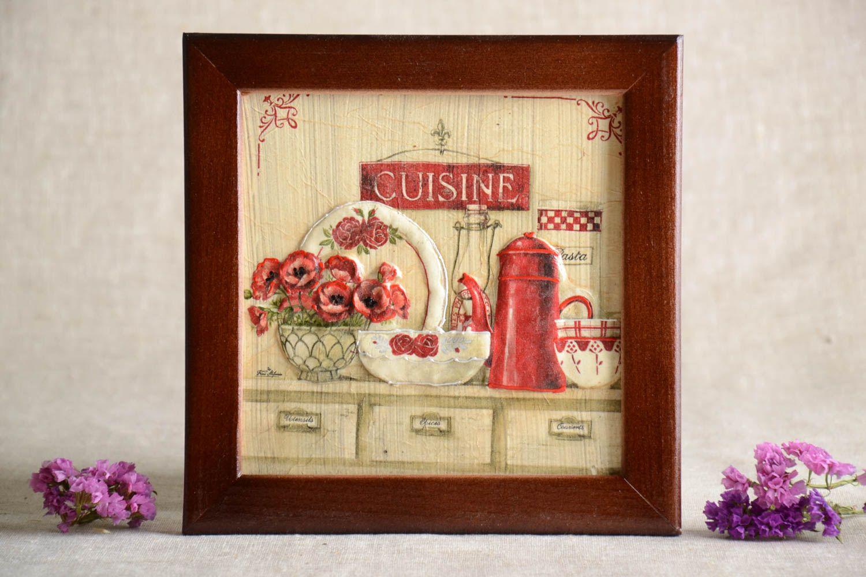 Madeheart panel decorativo adorno artesanal decoraci n - Panel decorativo cocina ...