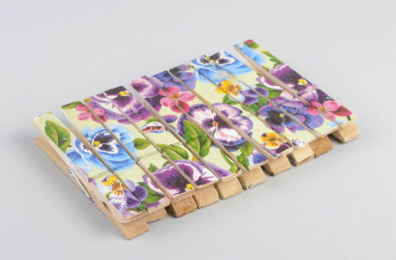 Madeheart pinzas para la ropa hechas a mano decoraci n for Decoracion de casas hechas a mano