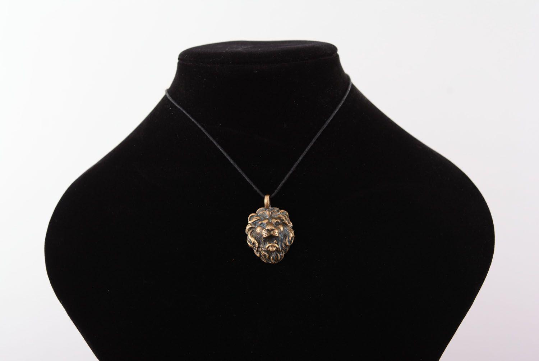 Handmade bronze pendant photo 5