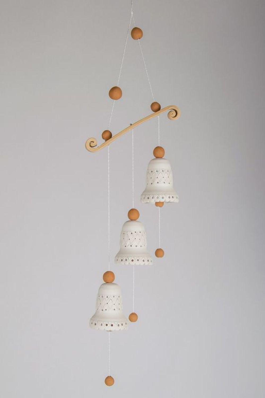 3 ceramic bells  photo 1