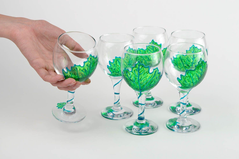 Madeheart copas de vino hechas a mano de cristal - Cocinas hechas a mano ...