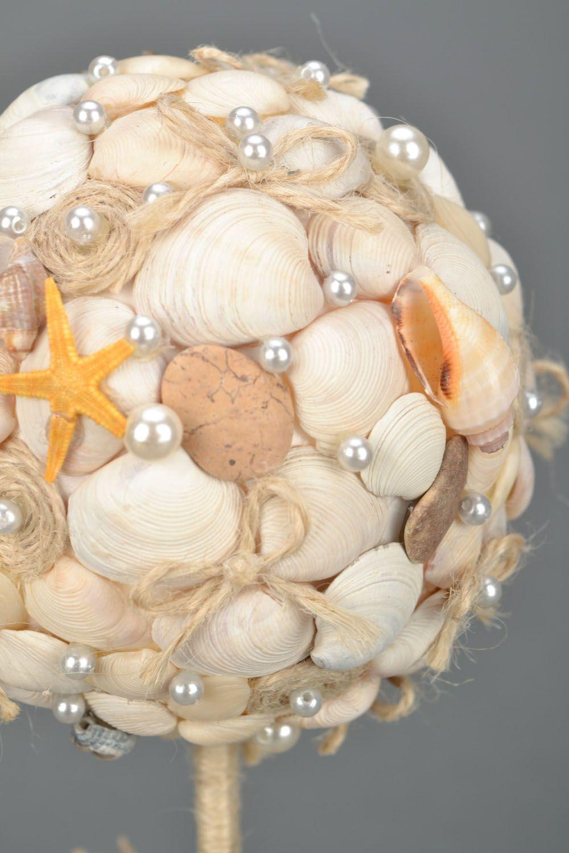 Tree of happiness with seashells photo 3