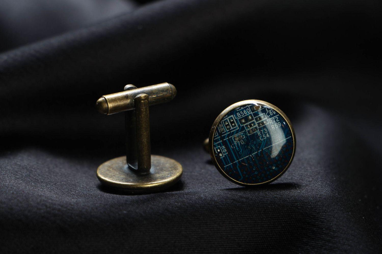 cufflinks Handmade cyberpunk cufflinks - MADEheart.com