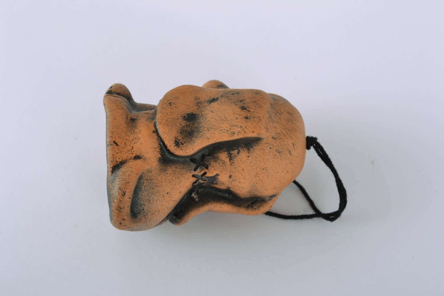 Designer ceramic bell in the shape of puppy photo 2