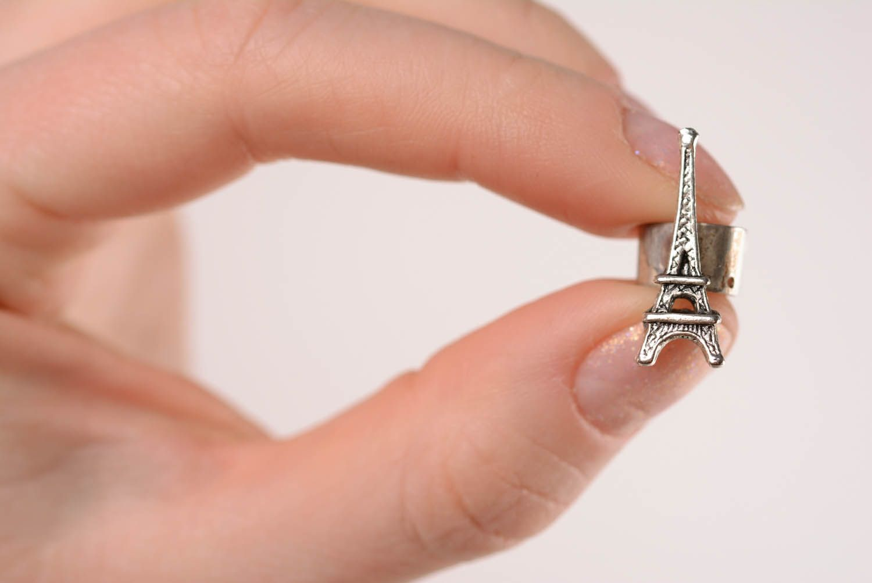 Handmade cuff Eiffel Tower photo 4