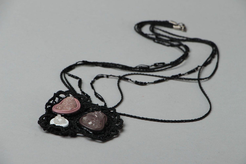 Beautiful pendant with amethyst photo 2
