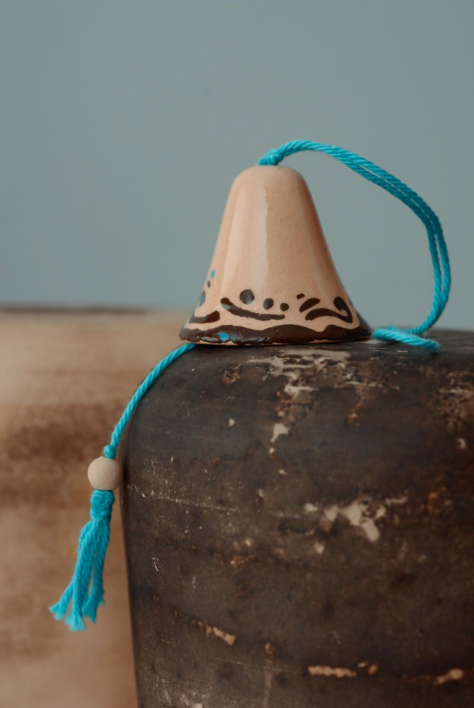 Ceramic glazed bells photo 1