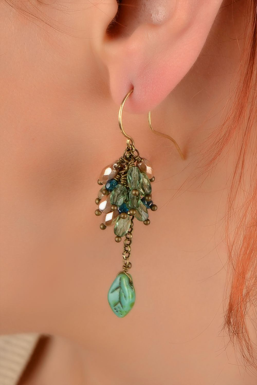 Unusual handmade beaded earrings cool jewelry beautiful jewellery fashion trends photo 5
