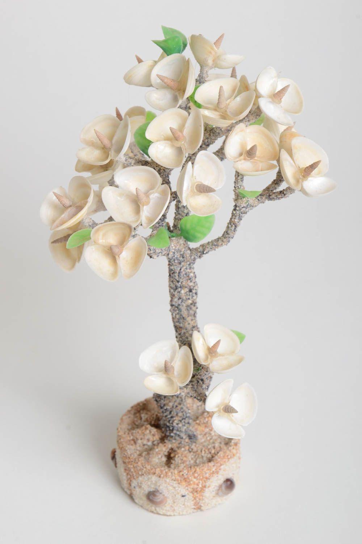 Handmade tree with flowers artificial tree decoration tree handmade gift photo 4