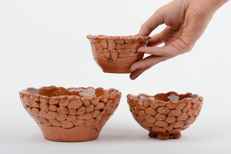 Madeheart cuencos de cer mica artesanales utensilios de for Utensilios de cocina originales