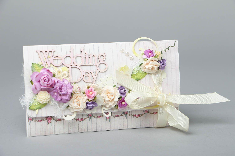 Beautiful wedding card photo 1