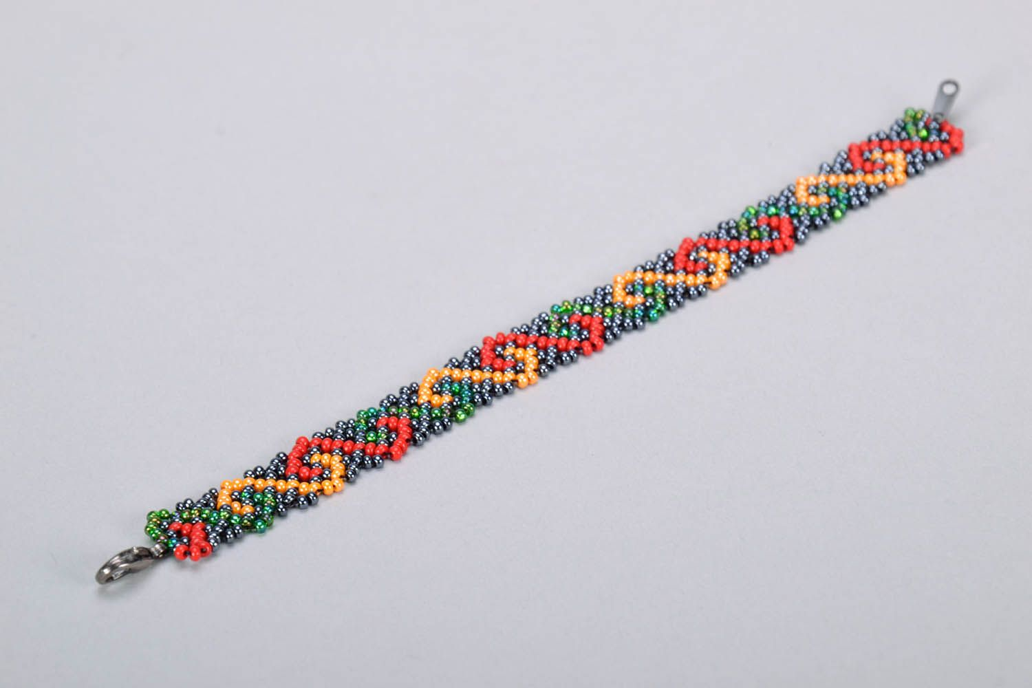 Multicolored Bead Bracelet photo 4