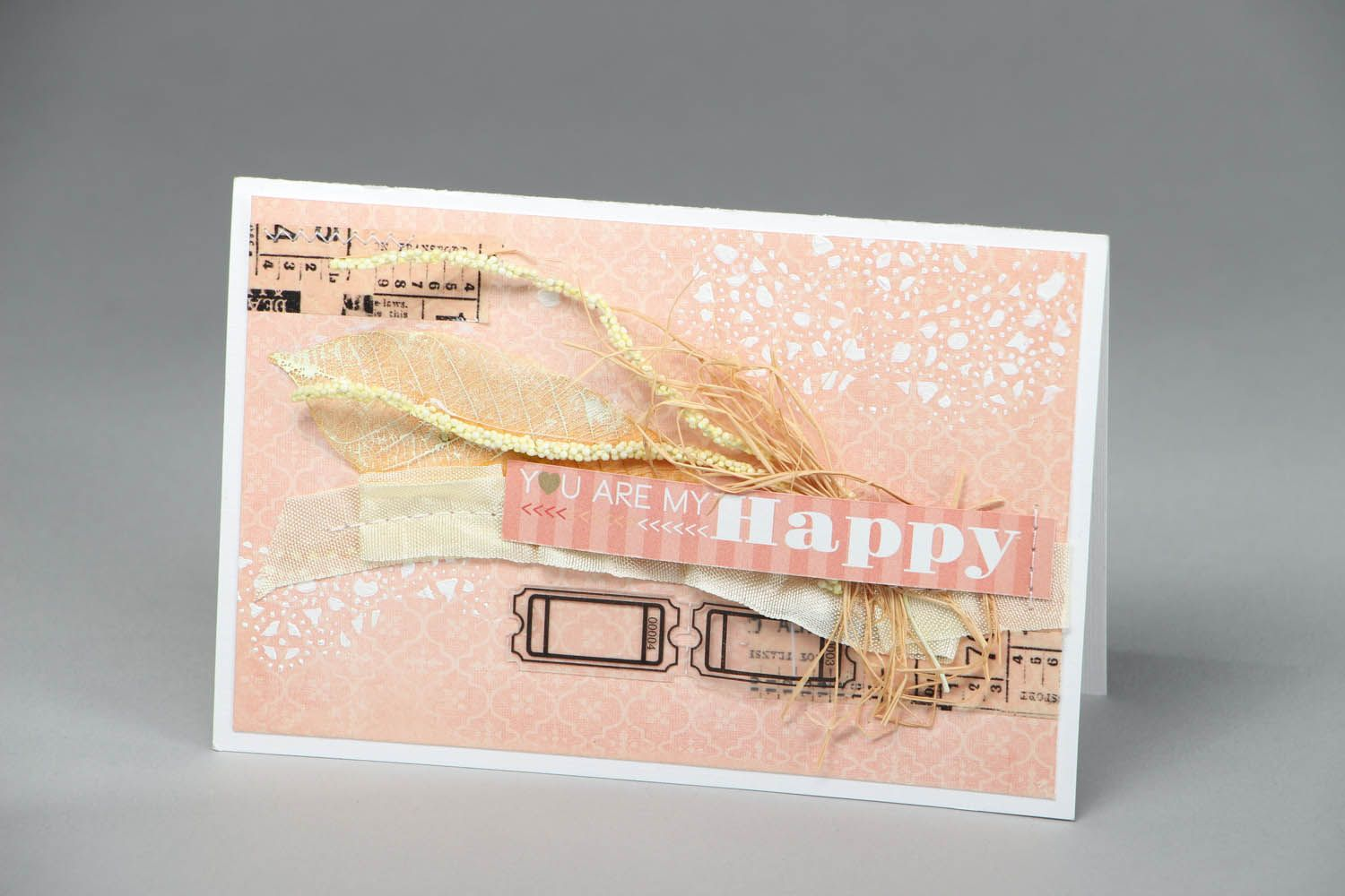 Postcard You are my happiness photo 1
