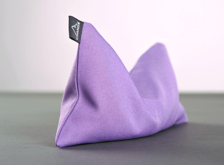 Yoga eye pillow with quartz sand photo 1