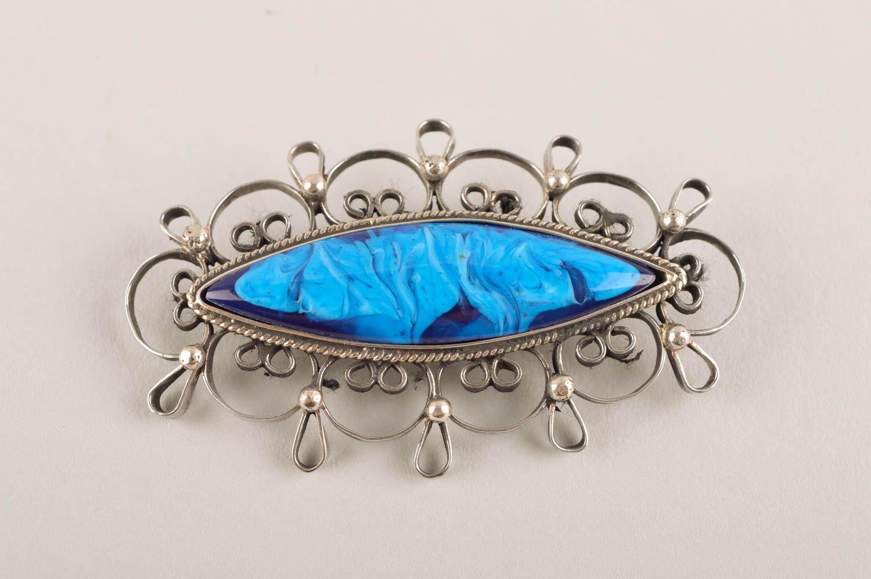 Handmade metal brooch stylish jewelry fashion brooch vintage brooch for women photo 2