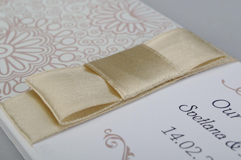 wedding accessories Wedding invitation card - MADEheart.com