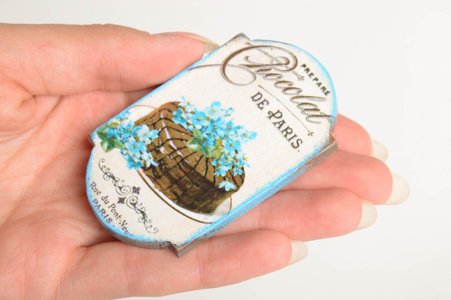 Unusual handmade fridge magnet cool fridge magnets small gifts for decor only photo 4