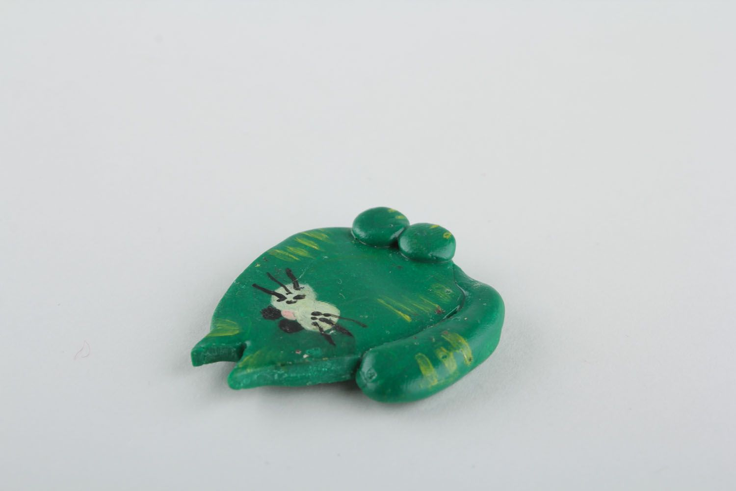 Fridge magnet Green Cat photo 3
