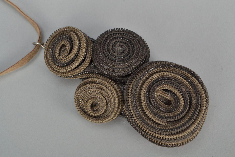 Zipper necklace photo 3