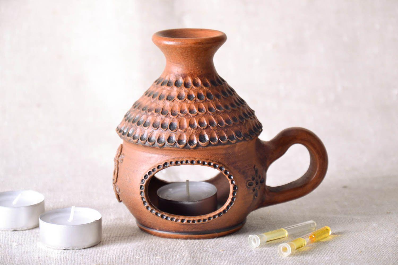Ceramic handmade aroma lamp photo 1