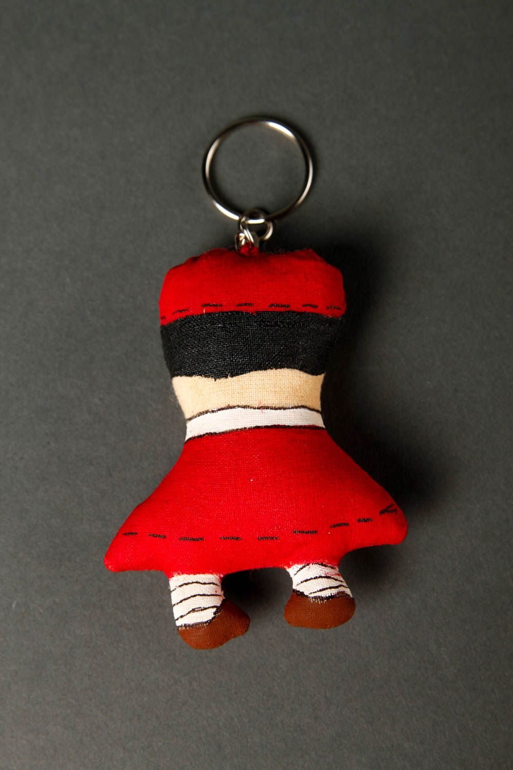 Stylish handmade soft keychain scented fabric keychain cool keyrings phone  charm