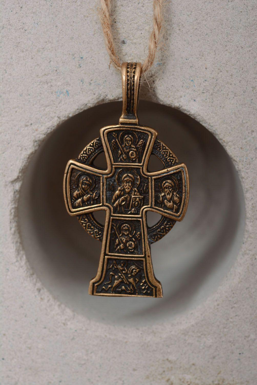 Homemade bronze cross photo 4
