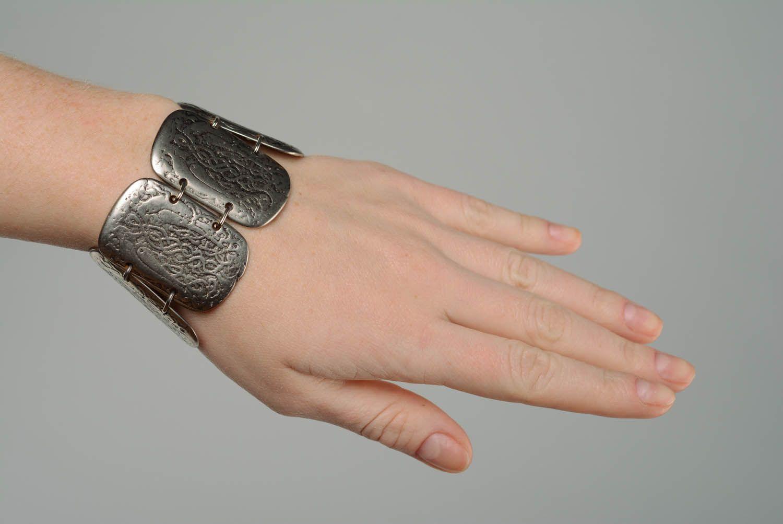 Metal Bracelet Two Falcons photo 5