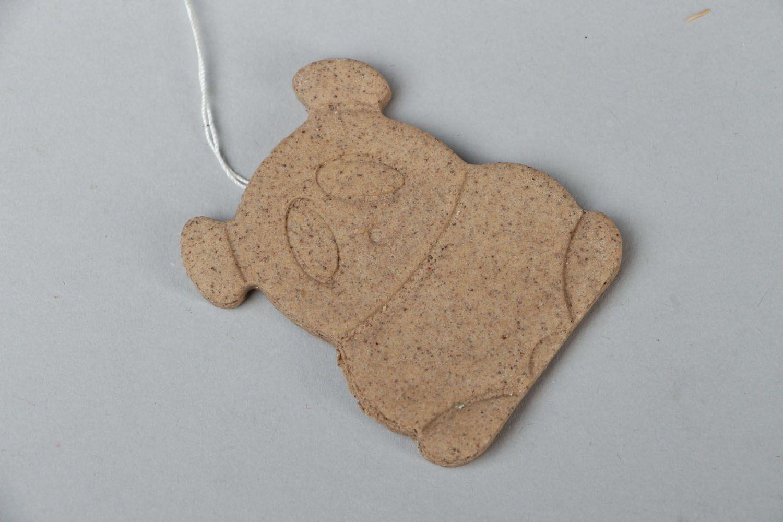 Fragrant cookie made of salt dough photo 1
