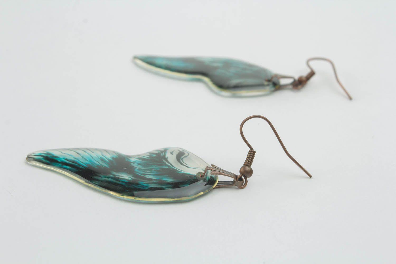 Earrings Wings of Angel photo 1