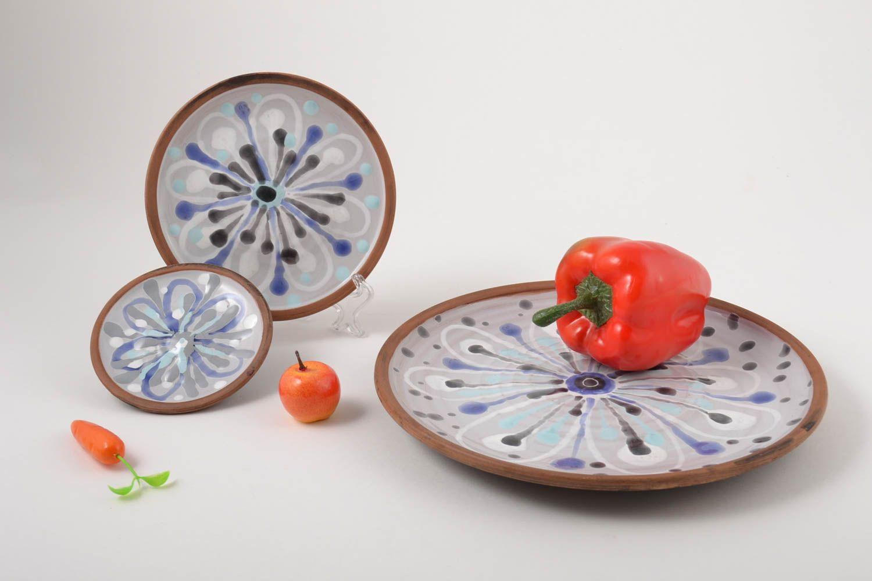 dinnerware sets Handmade plates clay plates designer kitchenware handmade pottery decor ideas - MADEheart.com & MADEHEART u003e Handmade plates clay plates designer kitchenware ...