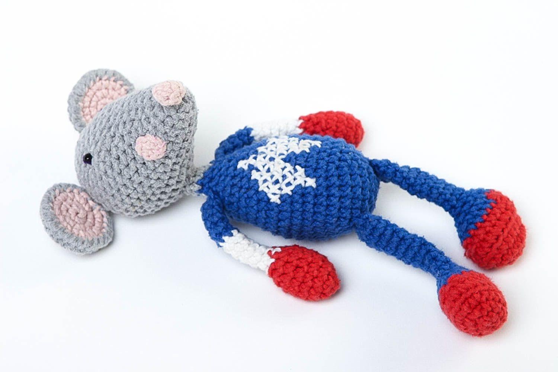 Вязание крючком игрушки детские 17