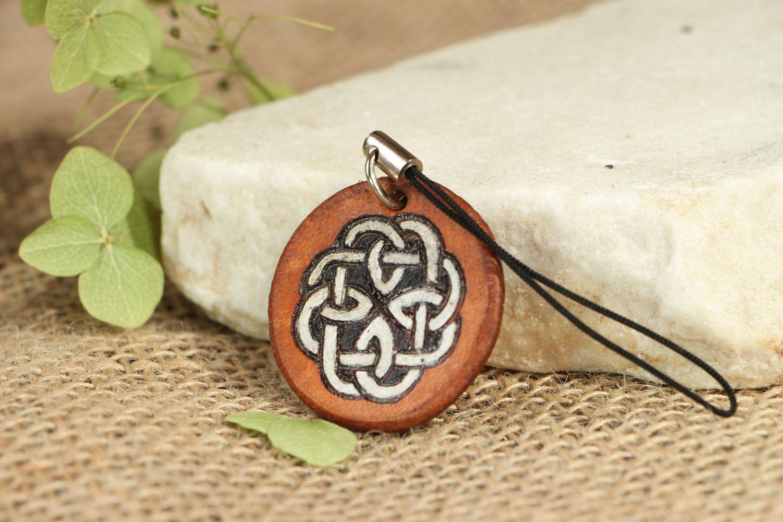 ... clés ethnique fait main en cuir technique pyrogravure - MADEheart.com