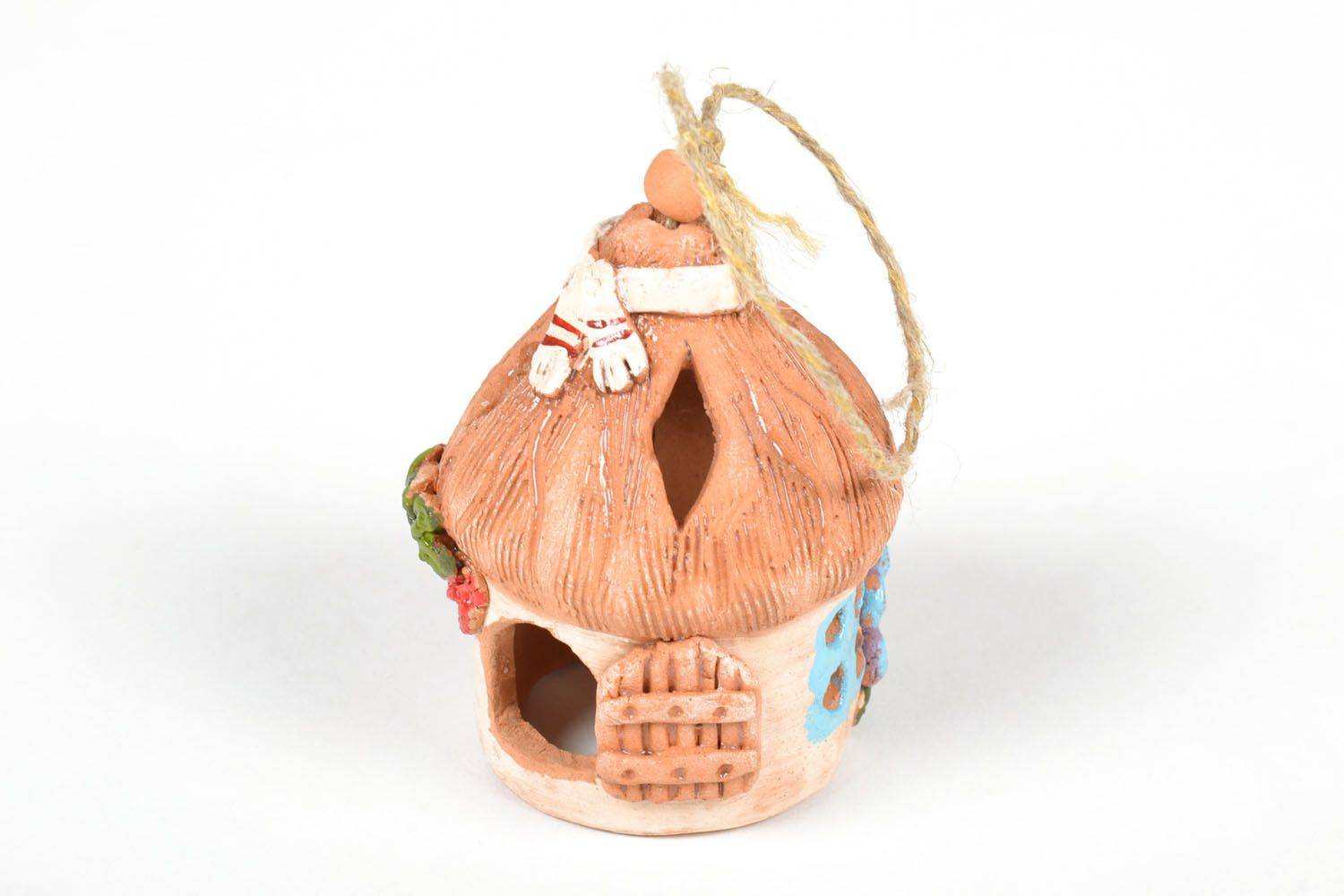 Ceramic painted bell photo 4