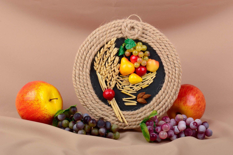 Madeheart panel decorativo adorno artesanal para cocina for Adornos para cocina