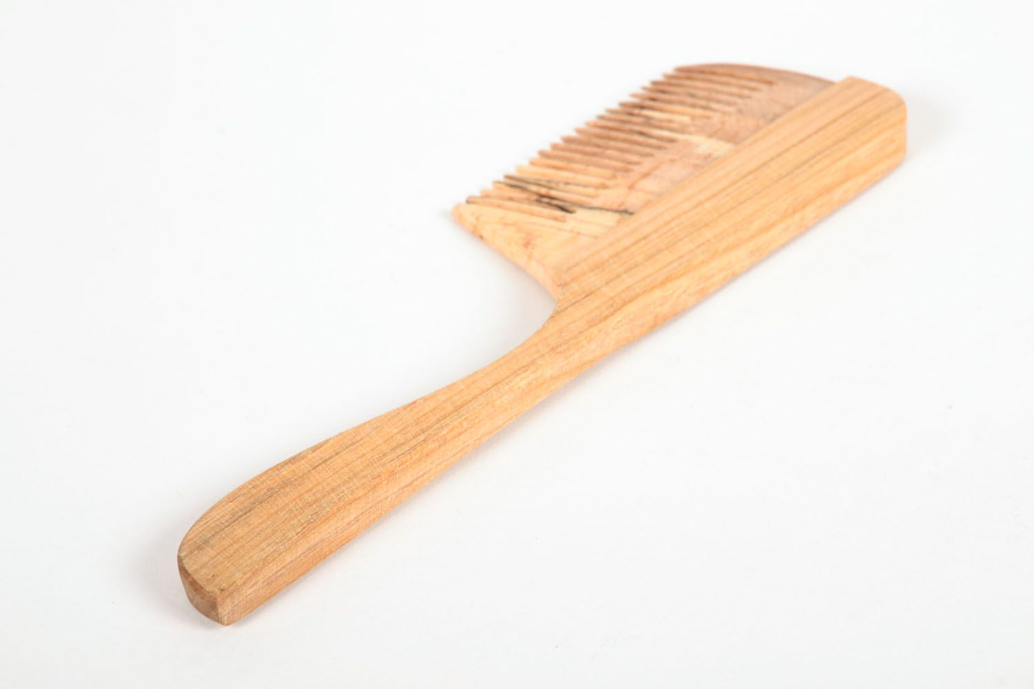 Wooden hair comb photo 3