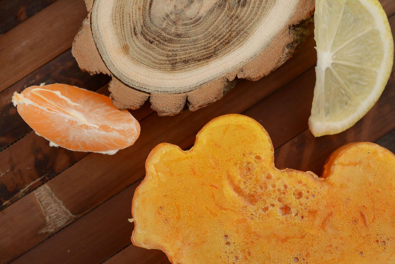 Grapefruit soap photo 2