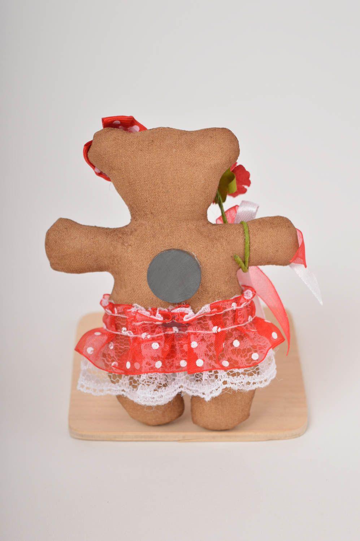 Fridge magnet handmade home decor soft toy funny magnet for decorative use photo 3