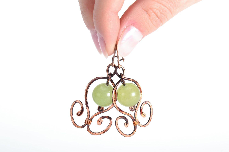 Elegant earrings with onyx photo 5