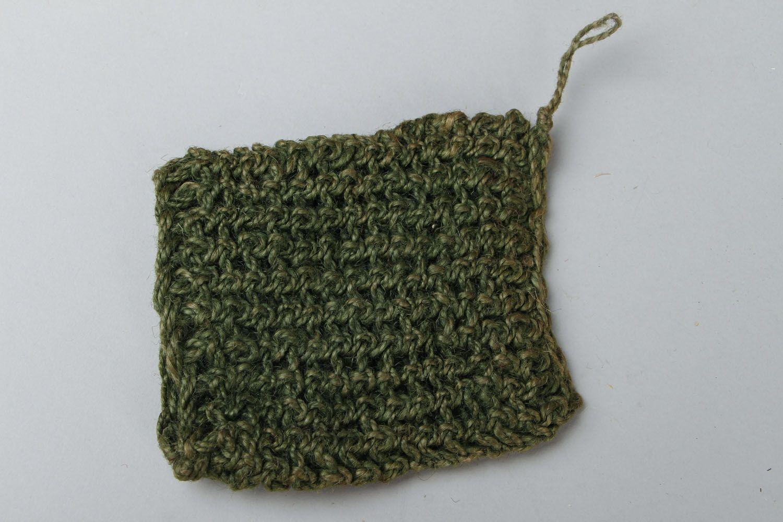 Jute crochet body scrubber  photo 1