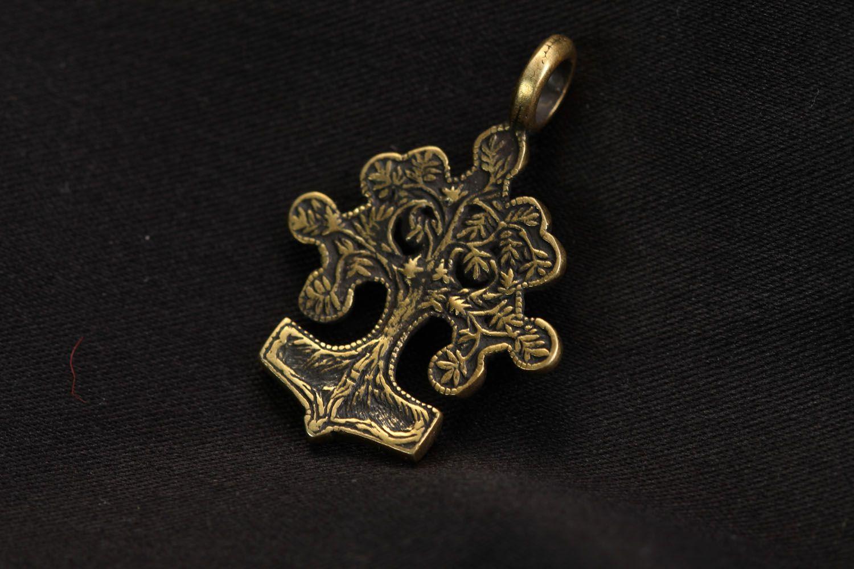 Bronze pendant Life Tree photo 3