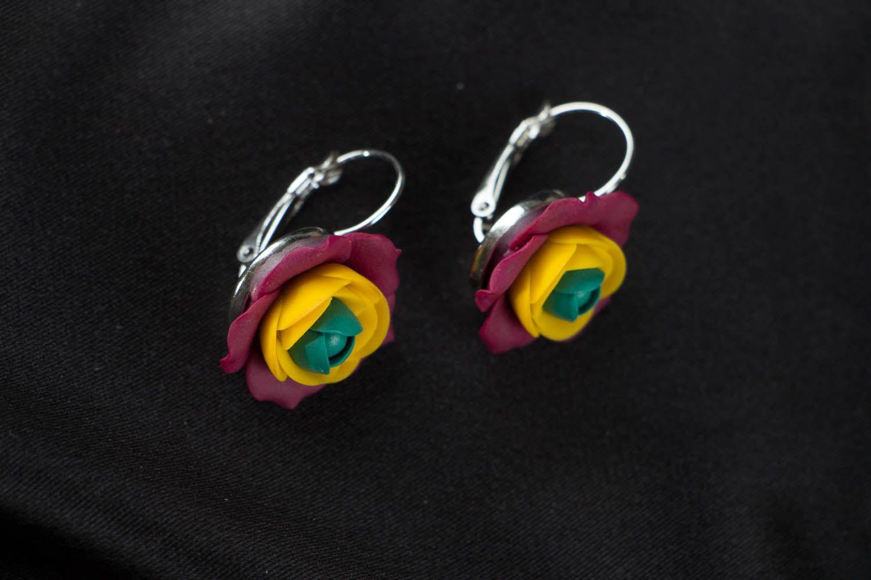 Flower earrings  photo 1