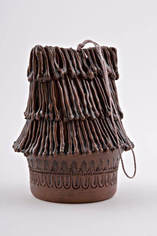 Decorative ceramic bell photo 4