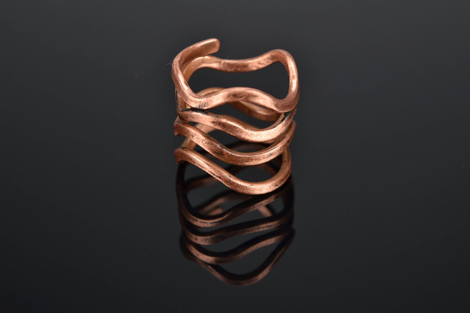 MADEHEART > Wire wrap copper ring