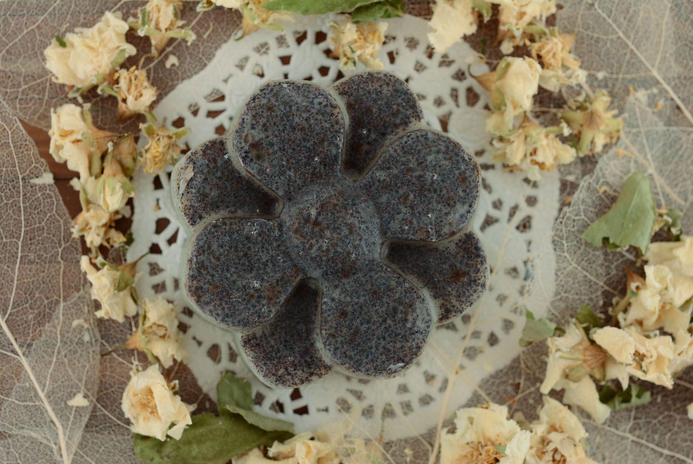 Homemade soap Grape Flower photo 3
